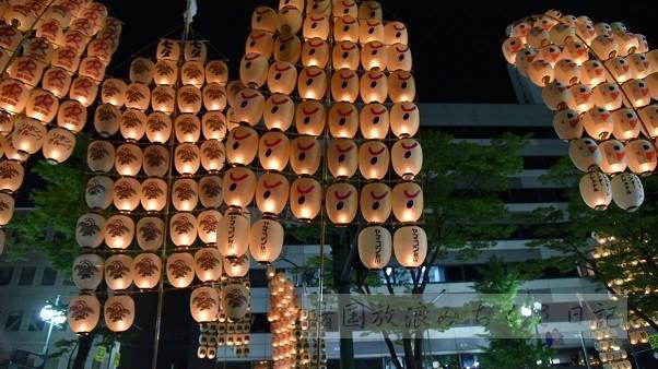 【秋田】東北三大祭り 秋田竿燈祭り